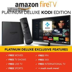 Amazon Fire TV,FULLY LOAD WITH KODI 16.0 Jarvis,Live TV,Sports,Movies, – CertainThings77