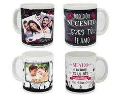 Resultado de imagen para mugs aniversario de novios regalos originales
