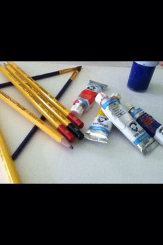 My pencils and more