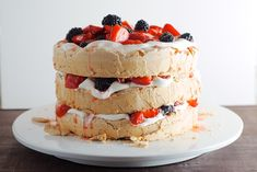 Three Layer Berry an