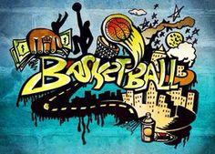 Basketball grafitti