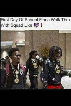 Squad on point Bff Goals, Best Friend Goals, Squad Goals, My Best Friend, Black Memes, Lol So True, Funny Pins, Black People, Laugh Out Loud