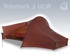 I thought I had a light tent, it weighed 1,8. Then I found the Nordisk Telemark 2 ULW. ULW stands for Ultra Light Weight, it weighs 890 grams, packs like a pair of gaiters and has carbonfiber poles and titanium pegs. I absolutely love it, the attention to detail, the materials and functions are mind-blowing, so is the price, in a good way. B.I.A.=I also want one in green!