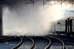 Praha Masarykovo nádraží Train, Trains