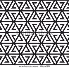Triangle pattern (black and white)