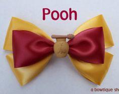 minion hair bow by abowtiqueshop on Etsy                                                                                                                                                                                 Mais