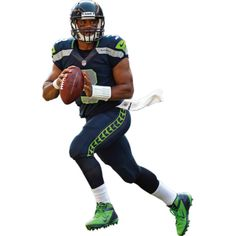 Seattle Seahawks fan?  Prove it!  Put your passion on display with the Russell Wilson Fathead from Fathead.com!