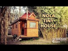 Derek's Backyard Tiny House tour. Favorite Features the bathroom layout. as well as the kitchen sink position being separate from the rest of the counter.