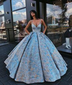 Snowfall - ball gown