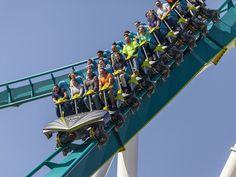 A montanha-russa mais rápida do mundo é inaugurada nos EUA