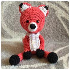 Fuchs gehäkelt, crochetfox, amigurumifox, Rotfuchs #crochet  #häkeln #nephihandmade