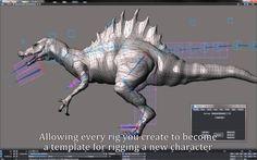 RHiggit 2 promo - rigging and animation toolset for LightWave3D