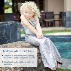 toddler mermaid tails