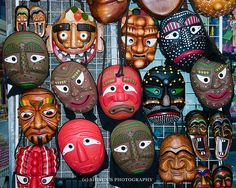Tal 탈(Korean traditional masks)
