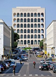 A district of Rome about five miles southwest of the historic center, built by Mussolini for the 1942 Esposizione Universale Roma (canceled ...