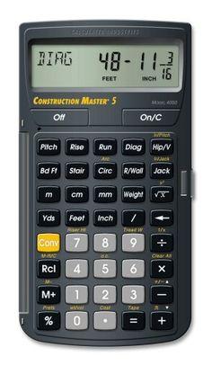 CRL Construction Master Calculator
