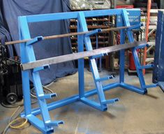 Browse the welding projects gallery today. Whether you're MIG welding, TIG welding, plasma cutting, or learning how to weld, get inspired with Miller. Rack Metal, Steel Storage Rack, Steel Racks, Shop Storage, Metal Shop, Shop Organization, Welding Shop, Welding Table, Metal Welding