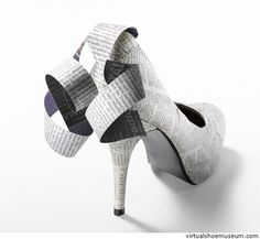 Paper pump  Adriana Teldaldi