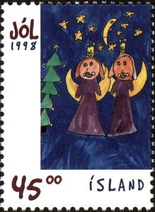 Christmas: Children's drawings