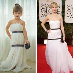 This 4-Year-Old And Her Mom Make Incredible Paper Versions Of Famous Dresses on imgfave