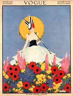 ⍌ Vintage Vogue ⍌ art and illustration for vogue magazine covers - 1915
