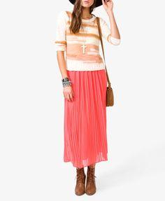 Chiffon Maxi Skirt | FOREVER21 - 2030682286