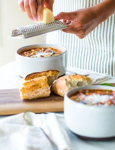 Pasta Fagioli- the best recipe I found so far. Not your traditional soup since it has beef but that makes it more filling. You can always leave it out tho and adding some pancetta would also bring it good flavor. Chili Recipes, Soup Recipes, Cooking Recipes, Pasta Recipes, Pasta Fagioli Recipe, Fagioli Soup, Italian Gravy, White Bean Turkey Chili, Food Categories