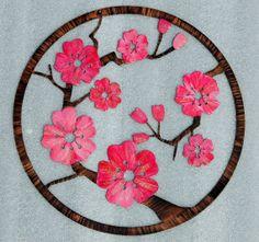 Cherry Blossom Wall Decor  Wall Art by HumdingerDesignsEtsy, $100.00
