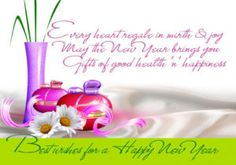 happy new year greeting wishes