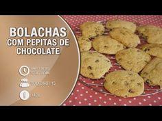 Bolachas com pepitas de chocolate - Receitas Bimby / Thermomix - YouTube