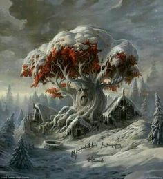 WeirWood and the City of the Children of the Forest