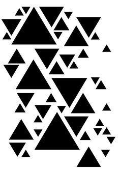 Geometric Patterns, Geometric Stencil, Geometric Designs, Textures Patterns, Geometric Shapes, Stencil Patterns, Stencil Designs, Pattern Art, Print Patterns