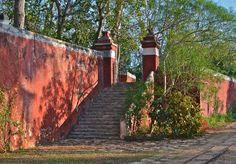 Colors and textures...Hacienda Temozon.