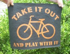 Bike Accessories Bicycle Patch. $8.00, via Etsy.