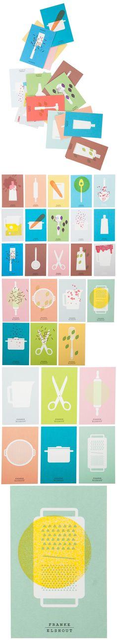 Branding for food designer Franke Elshout by Raw Color