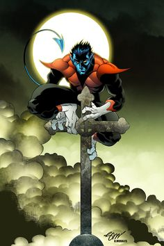 Nightcrawler by Saul Shavanas colored by Dany-Morales