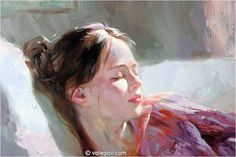 "Vladimir Volegov Fragment of painting ""Pink Dream"""