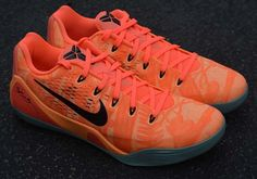 61b961470635 Nike Kobe 9 EM - Peach Cream - Bright Mango - Medium Mint - SneakerNews.com