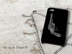 Gun iPhone 4 iPhone 4S Case by casedragon on Etsy, $15.79