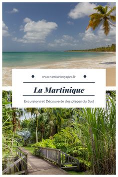 Les incontournables dans le sud de l'ile de la Martinique #ventsetvoyages #travelblog #lediamant #saline #plage #antilles Les Bahamas, Porto Rico, Sainte Lucie, Excursion, Picture Postcards, France Travel, Travel With Kids, Places To See, Travel Inspiration