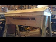 How to Make a Top Bar Bee Hive