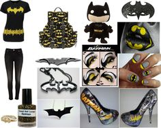 Batman stuff...Everything you need to look totally awesome! #Batman #Batgirl