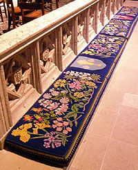 Grace Cathedral - Nature in Needlepoint
