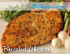 141 calorie Breaded Chicken recipe. This is so good it feels like your cheating on your diet!