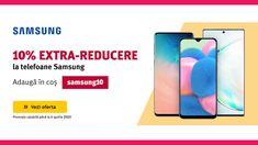 10% EXTRA-REDUCERE la telefoane Samsung pe Altex Samsung, Phone, Telephone, Mobile Phones