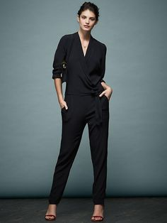 Piperlime Collection Fall 2014 Long Sleeve Drapey Romper $139