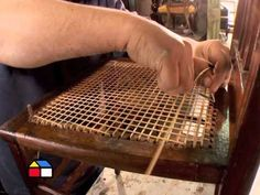 How To Repair Rattan Garden Furniture Rattan Garden Furniture, Bamboo Furniture, Diy Furniture, Agate Decor, Woven Chair, Repurposed Items, Wood Working For Beginners, Furniture Upholstery, Furniture Restoration