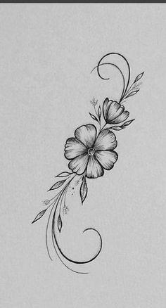 Dibujos De Flores Hawaianas - meetmelindadoolittle Through our work with older buildings like the Sala Beautiful Flower Drawings, Pencil Drawings Of Flowers, Flower Art Drawing, Flower Sketches, Pencil Art Drawings, Art Drawings Sketches, Tattoo Drawings, Drawing Style, Tattoo Sketches