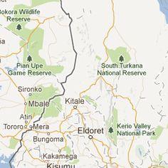 Directions from NAIROBI to MAMBRUI