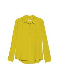EQUIPMENT Brett Citronelle   Long Sleeve Relaxed Slim Shirt